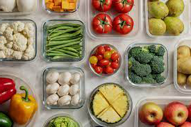 storing vegetables and fruits